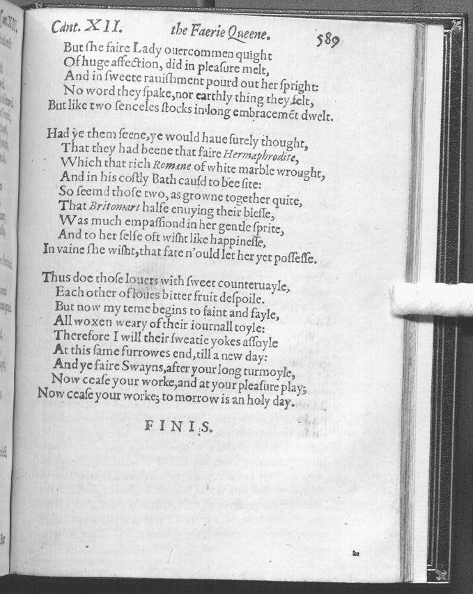 chastity faerie queene The center (both literally and figuratively) of the book of chastity, the very book   incest because the faerie queene designates britomart as elizabeth's.