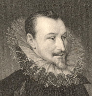 1853 Engraving of Edmund Spenser